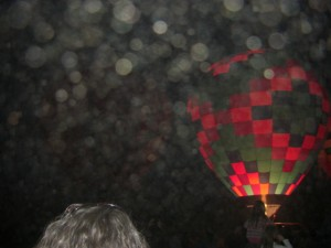 Orbs at Taos Balloon Festival