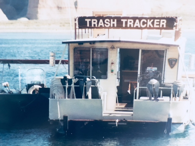 Remembering  9-11 and Trash Trackers